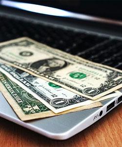 money-laptop
